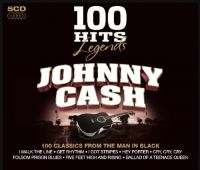 Cover Johnny Cash - 100 Hits Legends