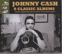 Cover Johnny Cash - 8 Classic Albums