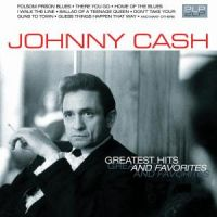 Cover Johnny Cash - Greatest Hits And Favorites