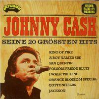 Cover Johnny Cash - Seine 20 grössten Hits