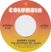 Cover Johnny Cash - The Reverend Mr. Black