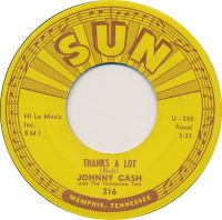 Cover Johnny Cash And The Tennessee Two - Thanks A Lot