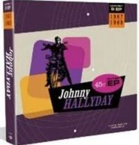 Cover Johnny Hallyday - 1967-1969 - EP Box Set