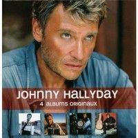 Cover Johnny Hallyday - 4 albums originaux