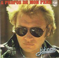Cover Johnny Hallyday - À propos de mon père