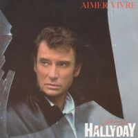 Cover Johnny Hallyday - Aimer vivre