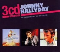 Cover Johnny Hallyday - Anthologie 1960-1963 / 1964-1966 / 1966-1969