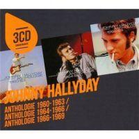 Cover Johnny Hallyday - Anthologie 1960-1963 + Anthologie 1964-1966 + Anthologie 1966-1969