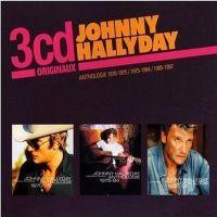 Cover Johnny Hallyday - Anthologie 1970-1975 + 1975-1984 + 1985-1997