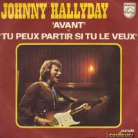 Cover Johnny Hallyday - Avant