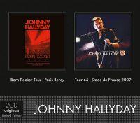 Cover Johnny Hallyday - Born Rocker Tour - Paris Bercy / Tour 66 - Stade de France 2009