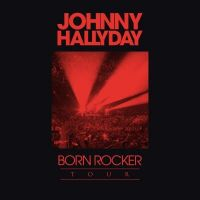 Cover Johnny Hallyday - Born Rocker Tour