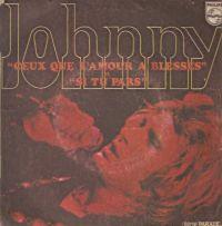 Cover Johnny Hallyday - Ceux que l'amour a blessés