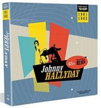 Cover Johnny Hallyday - Coffret 10 EP 1961-1962