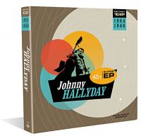Cover Johnny Hallyday - Coffret 10 EP 1964-1966