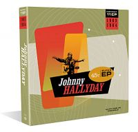 Cover Johnny Hallyday - Coffret 11 EP 1963-1964