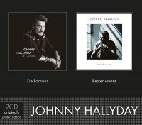 Cover Johnny Hallyday - De l'amour / Rester vivant