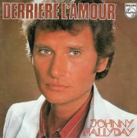 Cover Johnny Hallyday - Derrière l'amour