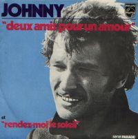 Cover Johnny Hallyday - Deux amis pour un amour