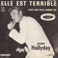 Cover Johnny Hallyday - Elle est terrible