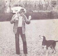 Cover Johnny Hallyday - Elle m'oublie