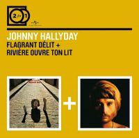 Cover Johnny Hallyday - Flagrant délit + Rivière ouvre ton lit