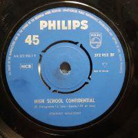 Cover Johnny Hallyday - High School Confidential
