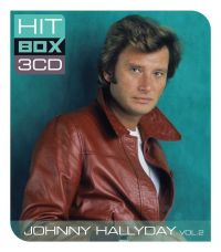 Cover Johnny Hallyday - Hit Box 3CD Vol. 2