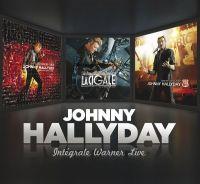 Cover Johnny Hallyday - Intégrale Warner Live