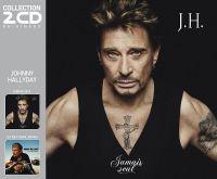 Cover Johnny Hallyday - Jamais seul / Ça ne finira jamais