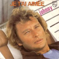 Cover Johnny Hallyday - Je t'ai aimée