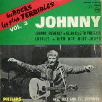 Cover Johnny Hallyday - Johnny, reviens!