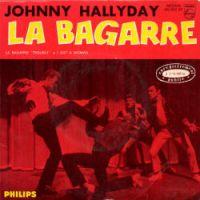Cover Johnny Hallyday - La bagarre