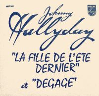 Cover Johnny Hallyday - La fille de l'été dernier