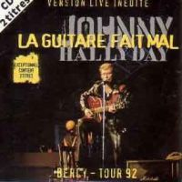 Cover Johnny Hallyday - La guitare fait mal (Bercy-Tour 92)