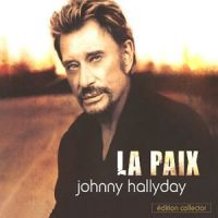 Cover Johnny Hallyday - La paix