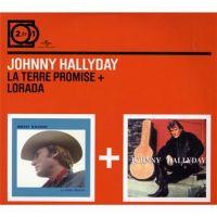Cover Johnny Hallyday - La terre promise + Lorada