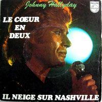 Cover Johnny Hallyday - Le cœur en deux
