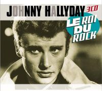 Cover Johnny Hallyday - Le roi du rock