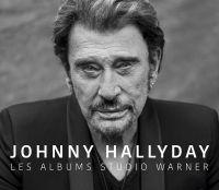 Cover Johnny Hallyday - Les albums studio Warner