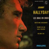 Cover Johnny Hallyday - Les bras en croix