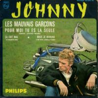 Cover Johnny Hallyday - Les mauvais garçons