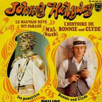 Cover Johnny Hallyday - L'histoire de Bonnie and Clyde