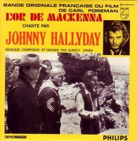 Cover Johnny Hallyday - L'or de MacKenna