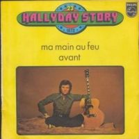 Cover Johnny Hallyday - Ma main au feu
