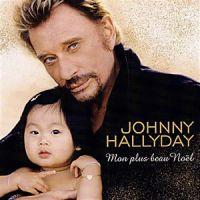 Cover Johnny Hallyday - Mon plus beau Noël