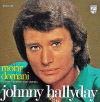 Cover Johnny Hallyday - Morir domani