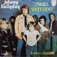 Cover Johnny Hallyday - Noël interdit