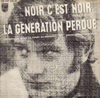 Cover Johnny Hallyday - Noir c'est noir