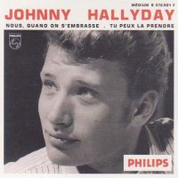 Cover Johnny Hallyday - Nous quand on s'embrasse